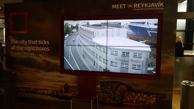 Inside Keflavik Airport