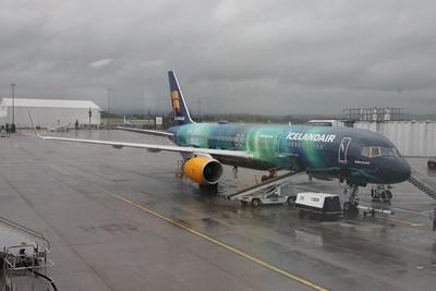 Helka Aurora at Glasgow Airport