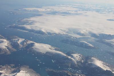 Overhead Greenland