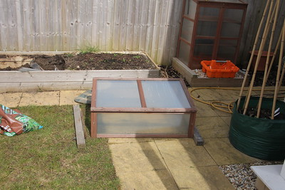 Moving the Herb Bed 23 April 2016
