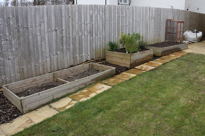 Completed move of Herd and Cold Frame beds